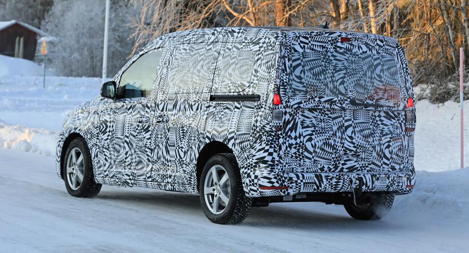 Компактвэн Volkswagen Caddy сменит поколение в новом году