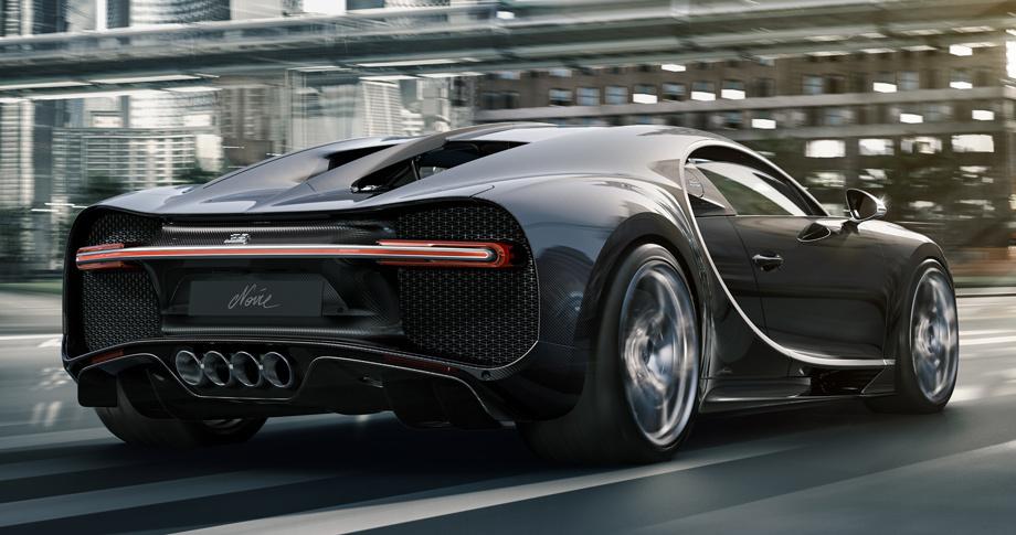 Издание Bugatti Chiron Noire сделало ставку на чёрное