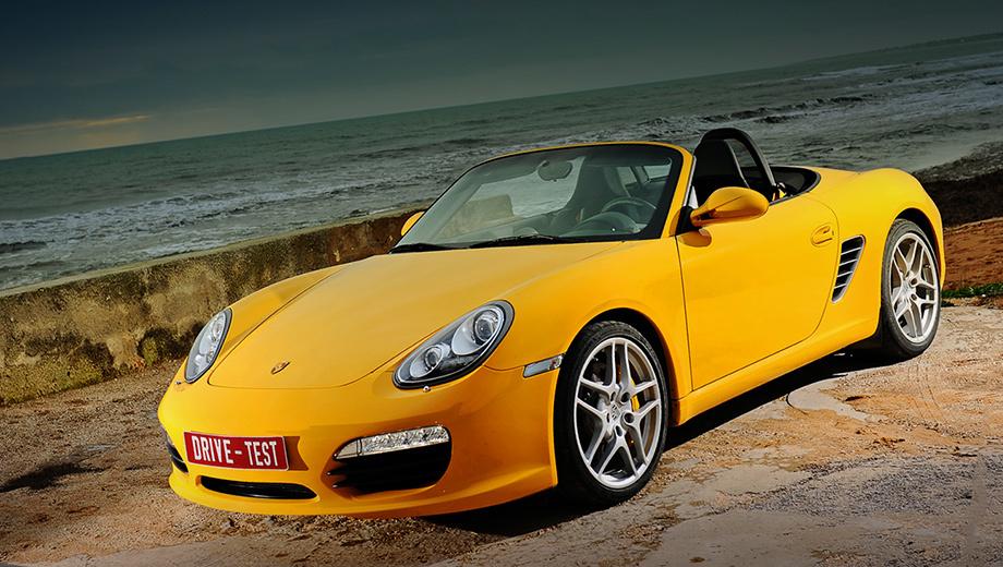 Porsche boxster. Внешне Porsche Boxster почти неизменился— ииндекс 987ему несменили. Нотехнических новшеств тут очень много.