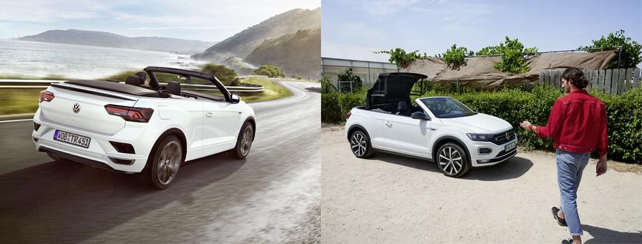 Кабриолет Volkswagen T-Roc встал наконвейер вОснабрюке