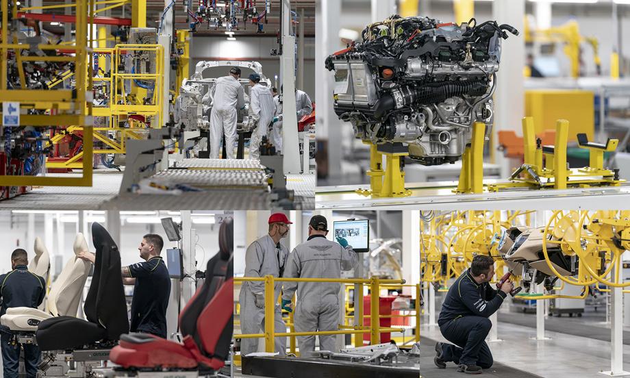 Aston Martin официально открыл новый завод вСейнт-Атане