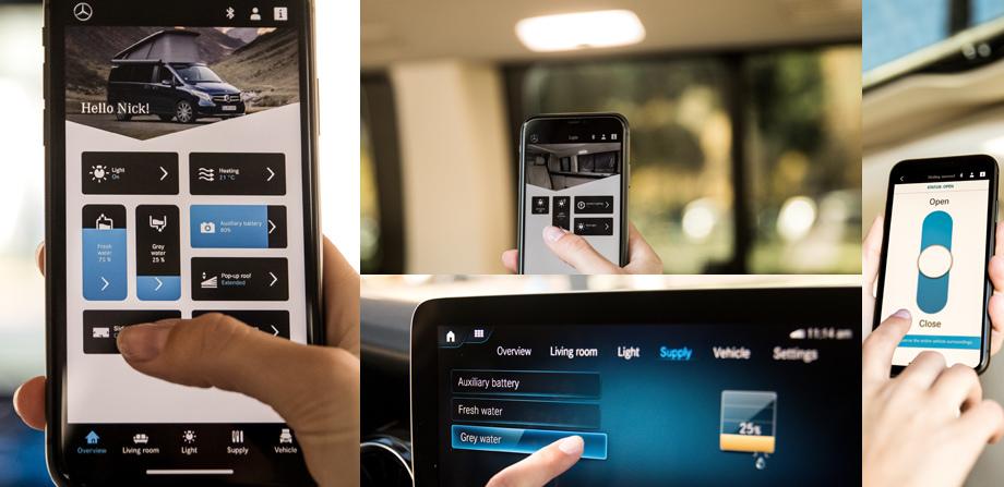 Вэн Mercedes-Benz V-класса обновил мультимедийную систему