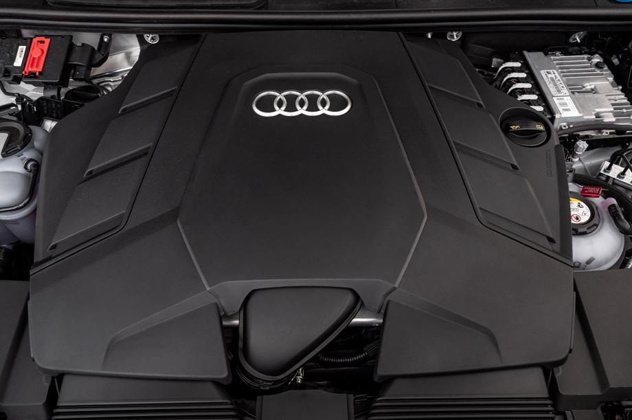 Гибрид Audi Q7 TFSI e вышел сразу вдвух модификациях