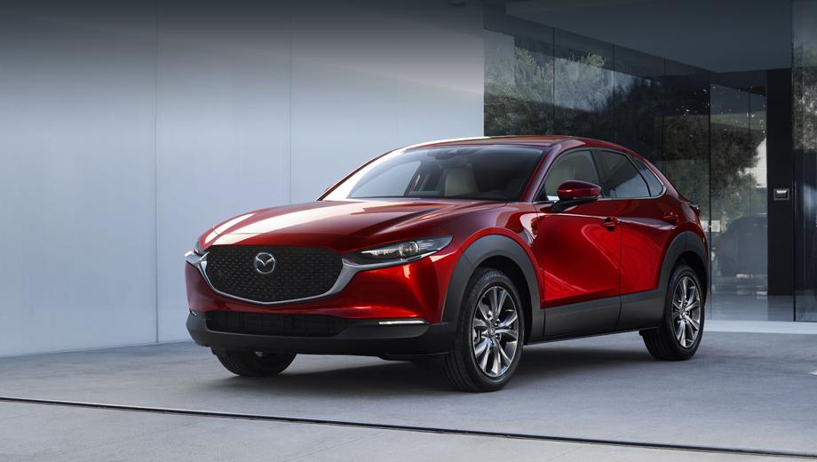 Mazda cx-30. В Россию будут поставляться паркетники CX-30 с завода Мазды в Хиросиме.