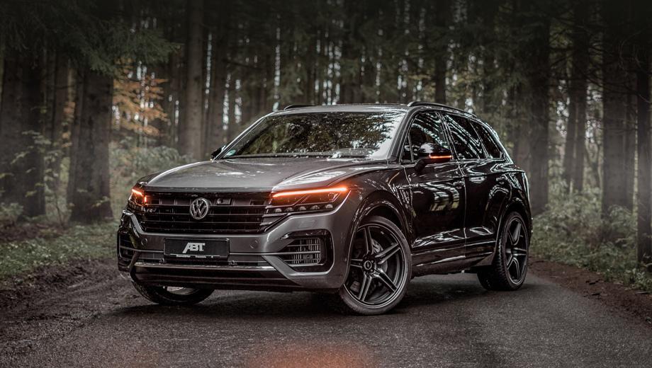 Volkswagen touareg. Компания ABT является одним из крупнейших ателье среди специализирующихся на марках группы Volkswagen (а в особенности Audi) и даёт на свою продукцию гарантию, а также сертифицирует её.