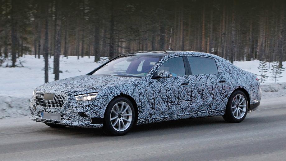 Mercedes s. Следующее семейство «эсок» должно использовать модульную платформу MRA II, которая позволит нарастить жёсткость кузова при росте доли алюминия более чем до 50%. Модернизированные подвески по схеме будут подобны прежним.