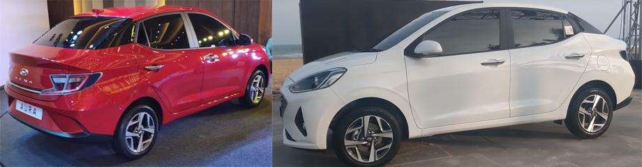 Индийский седан Hyundai Aura похвалился турбомотором