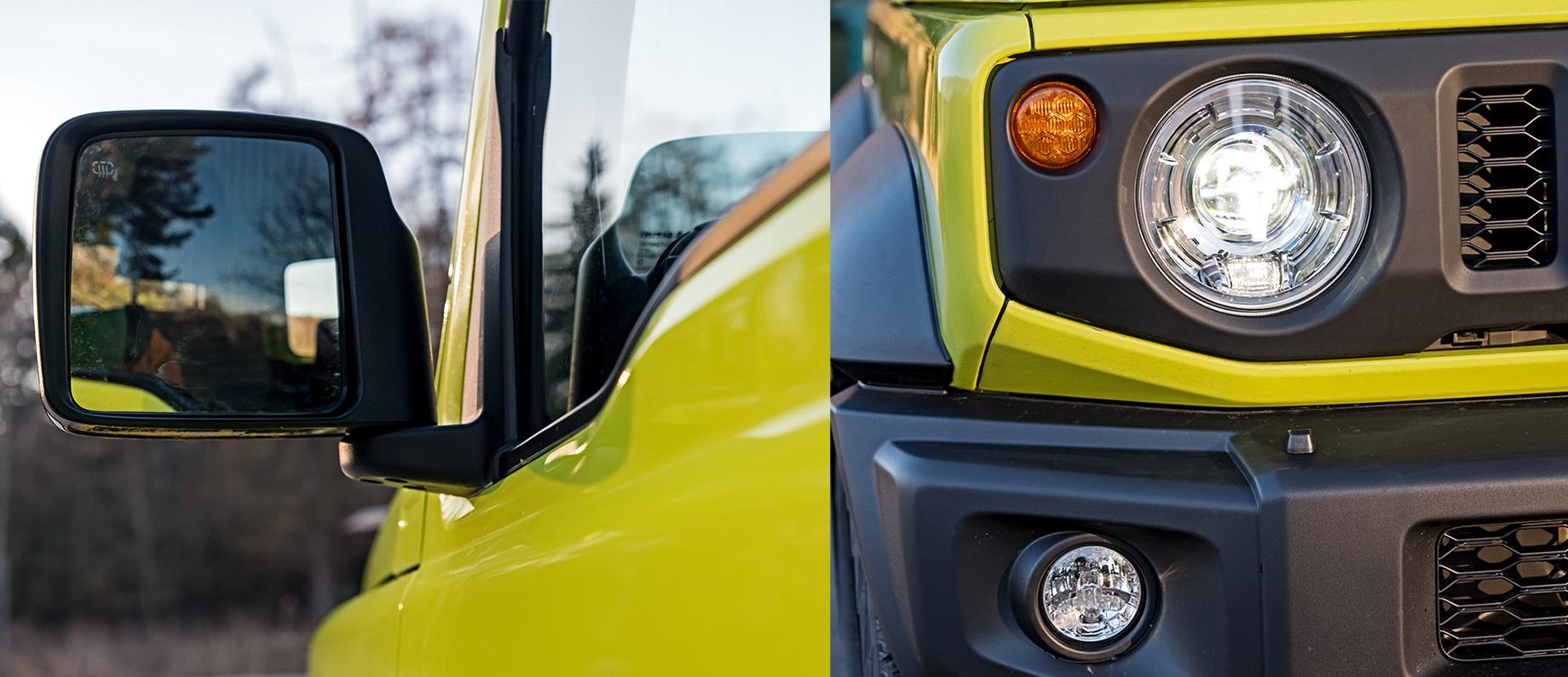 Реализуем превосходство Suzuki Jimny над предшественником