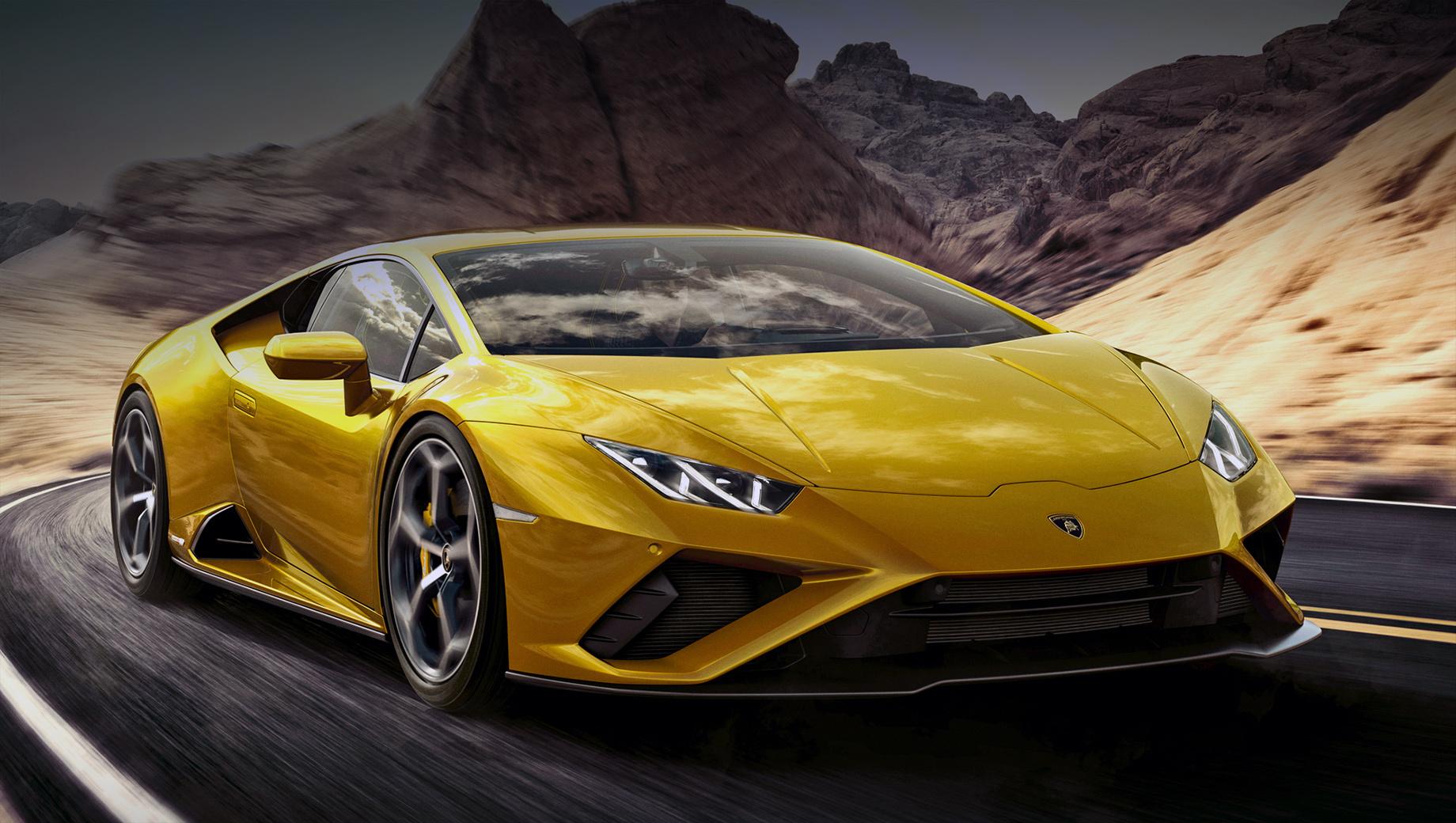 Lamborghini huracan,Lamborghini huracan evo. Сухая масса после обновления не изменилась и по-прежнему не превышает 1389 кг. Значит, RWD легче полноприводного купе на 33 кг. Развесовка по осям — 40:60 в пользу задней.