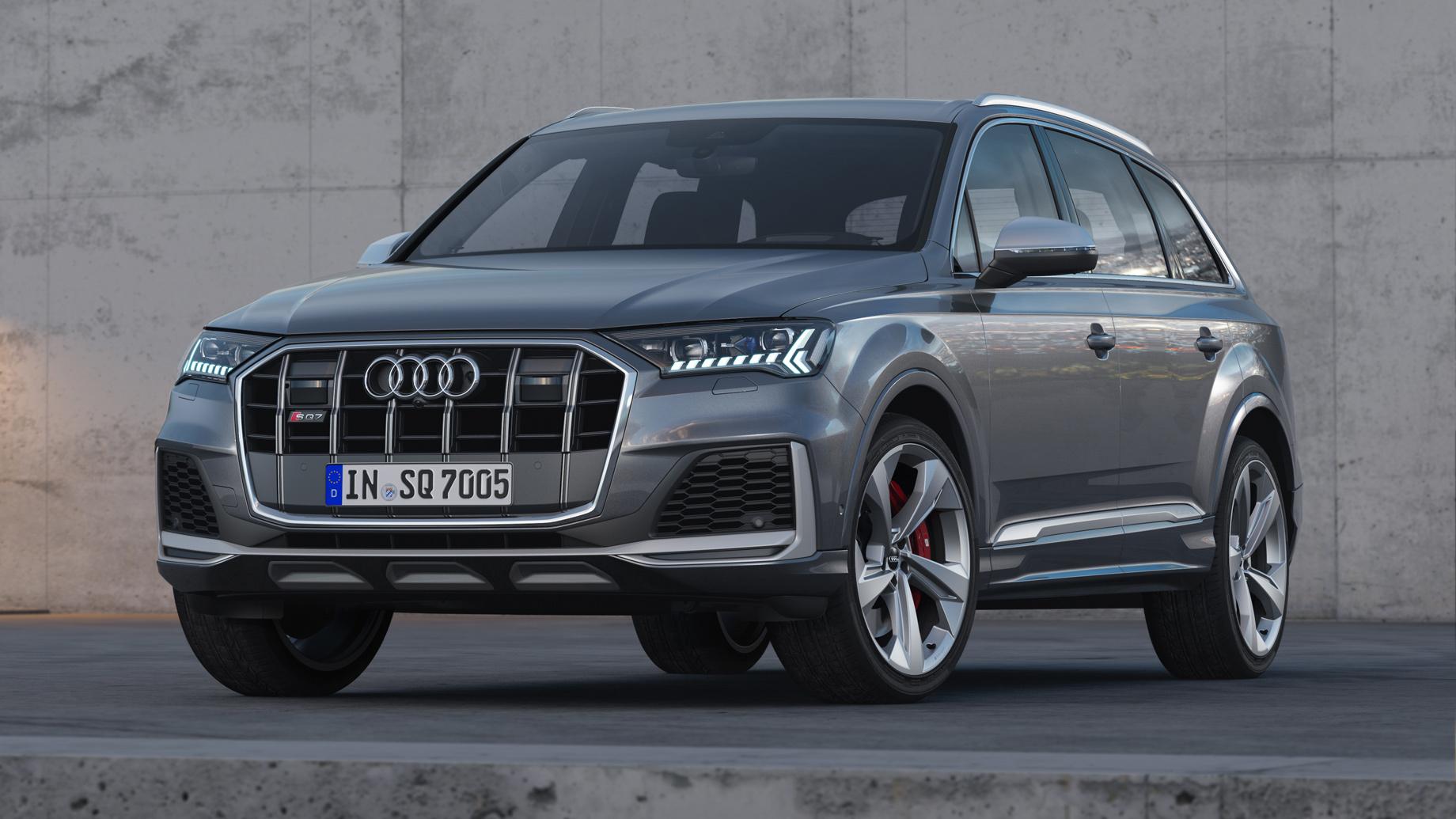 «Заряженные» Audi SQ7 и SQ8 станут бензиновыми в США