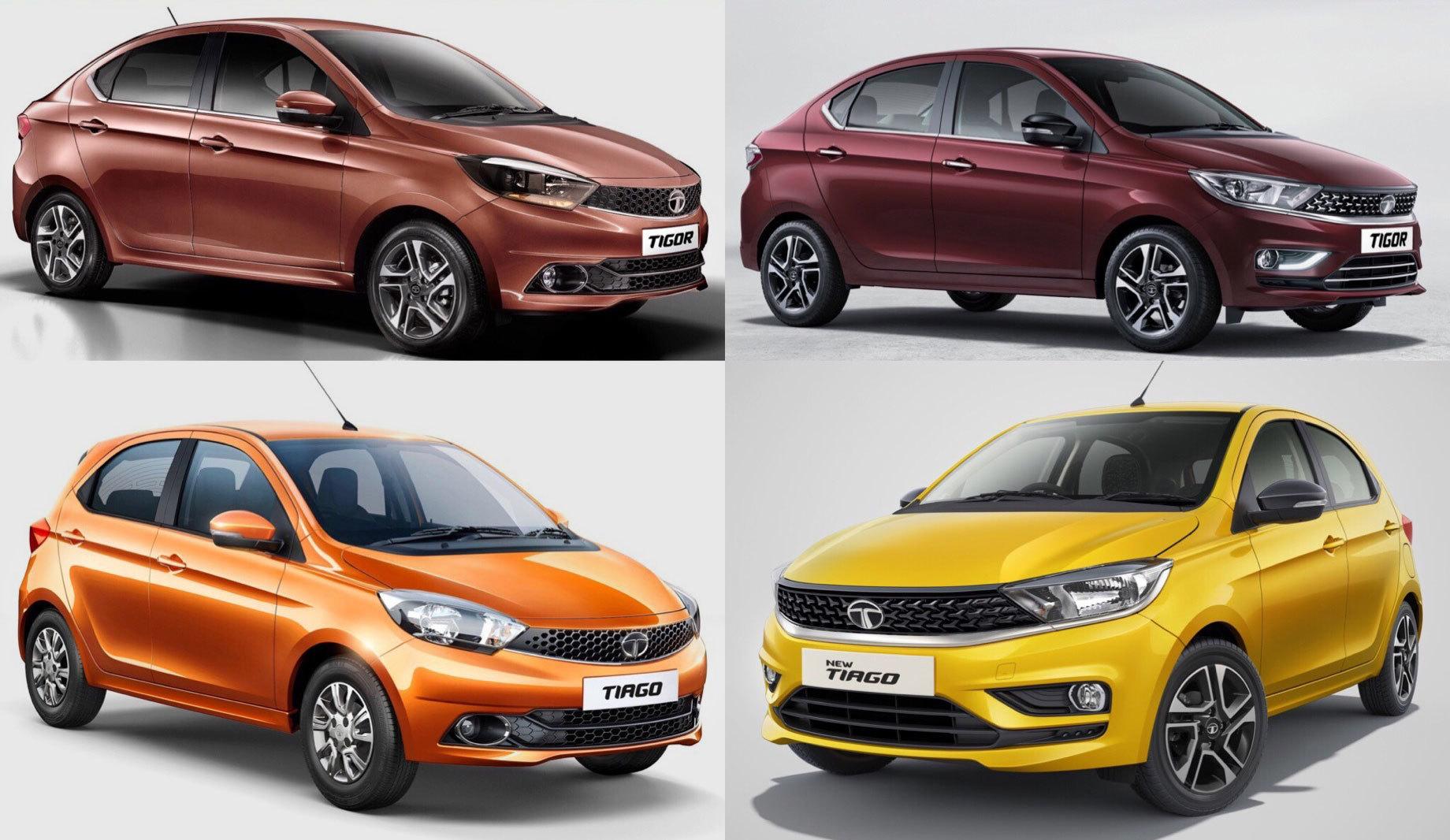 Индийская Tata Motors обновила модели Nexon, Tiago и Tigor
