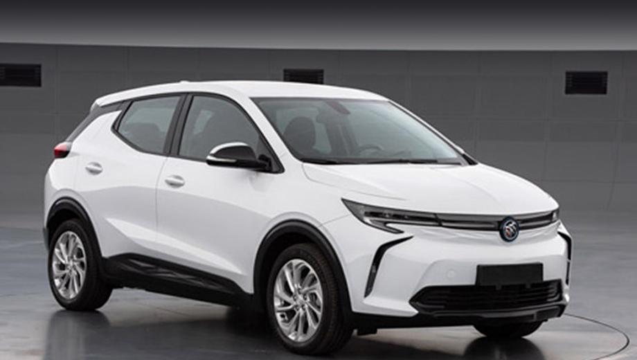 Buick velite 7,Chevrolet bolt euv,Chevrolet equinox. Автомобиль на снимках из китайского министерства промышленности почти в точности повторяет рисунок, показанный на конференции GM в 2017-м. Тогда компания не раскрыла даже марку машины на тизере.