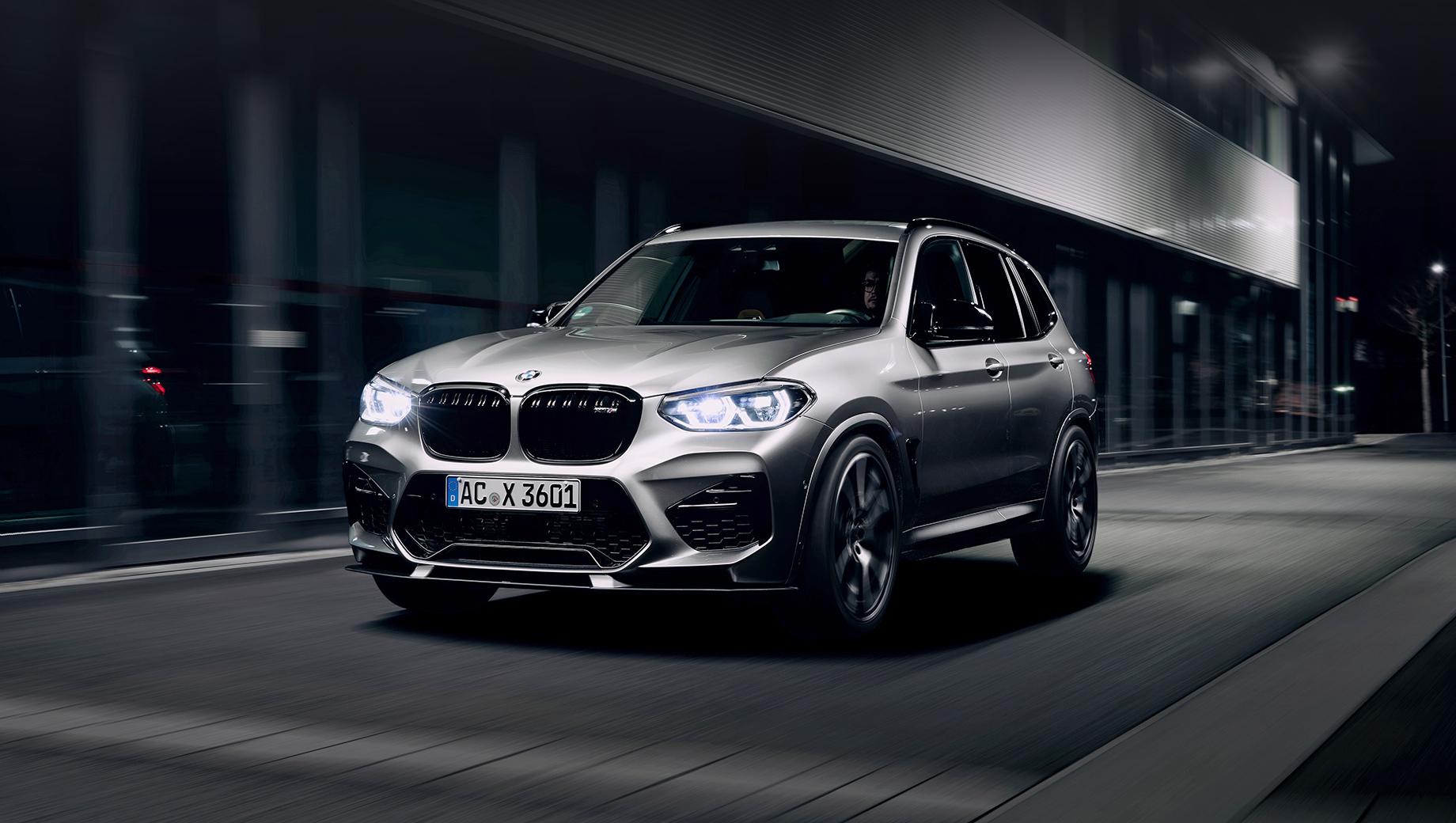 Bmw x3 m,Bmw x3,Bmw x3 m compettion. Дизайн от Шнитцера может привлечь любителей выделиться в потоке, если по какой-то причине им не по душе обвес от самой BMW из каталога M Performance Parts.