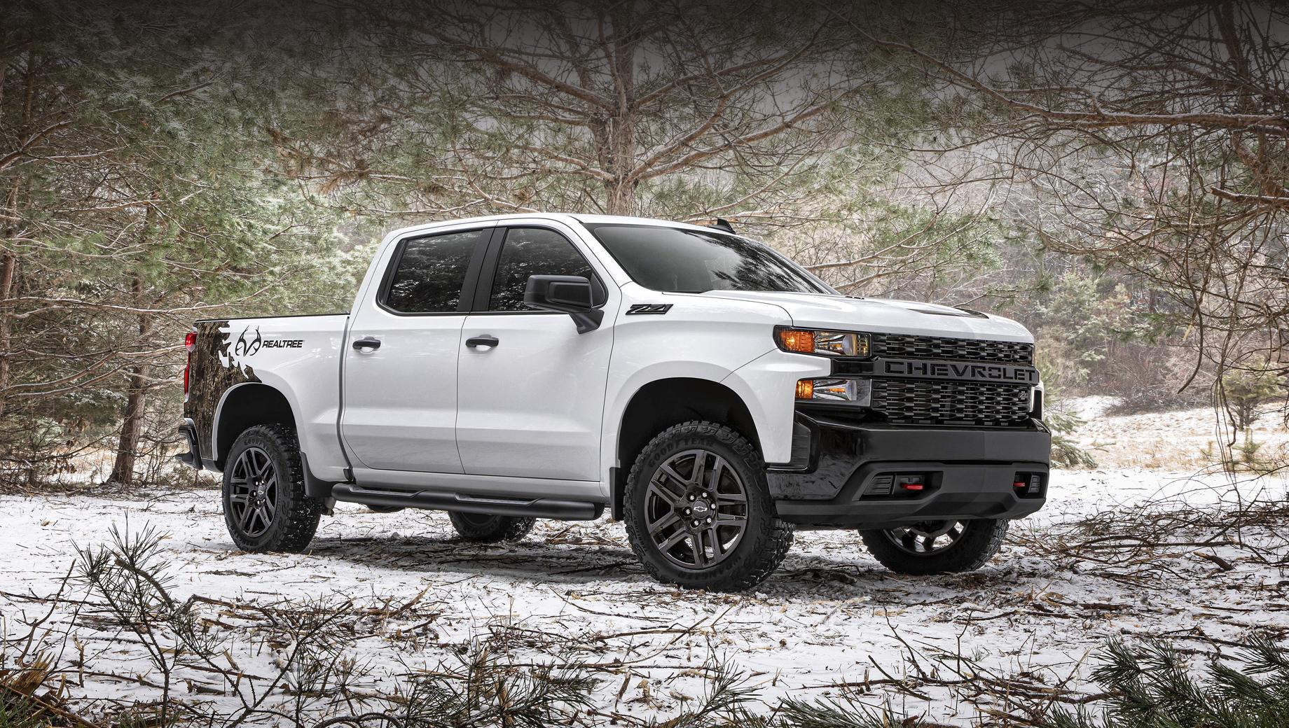 Chevrolet silverado. Это уже второй случай сотрудничества двух компаний: подобным образом партнёры преобразовывали Silverado в 2016-м.