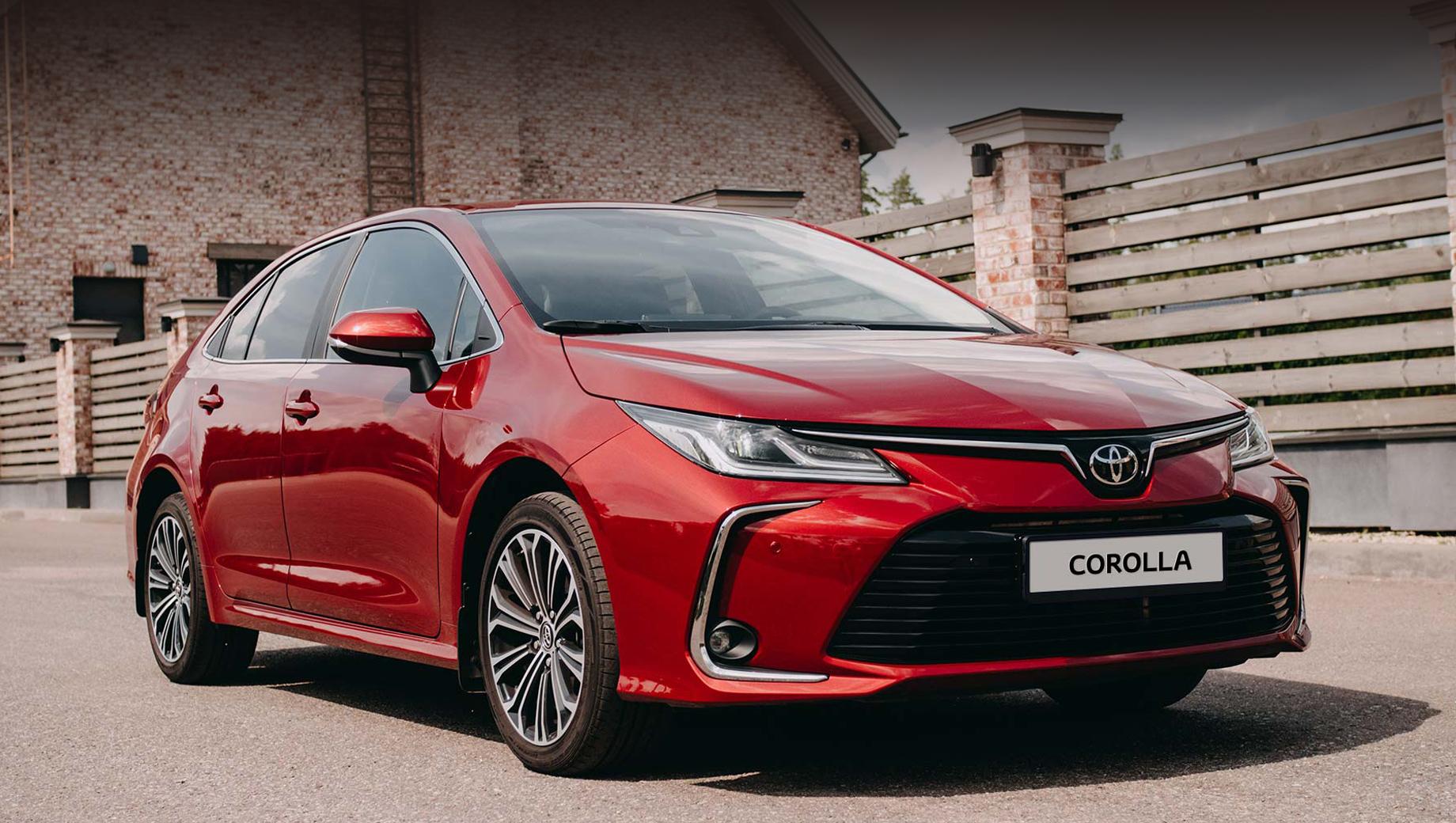 Toyota corolla. В минувшем году Corolla нашла в России 4684 покупателя (4408 из них приобрели машину нового поколения), что на 10% меньше, чем в 2018-м. Между тем производитель сообщает: «По итогам 2019 года Toyota Corolla с результатом 1 236 380 экземпляров стала самым продаваемым автомобилем планеты».