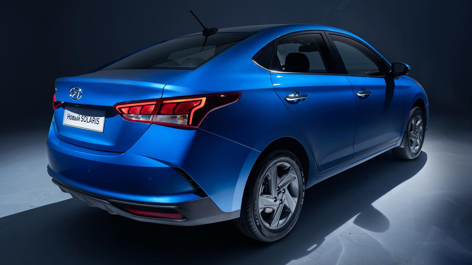 Обновлённый Hyundai Solaris представлен без характеристик
