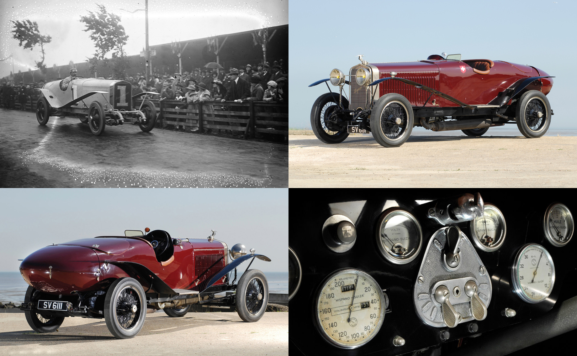 Электрокар Hispano Suiza Carmen Boulogne напомнит огонках 1920-х