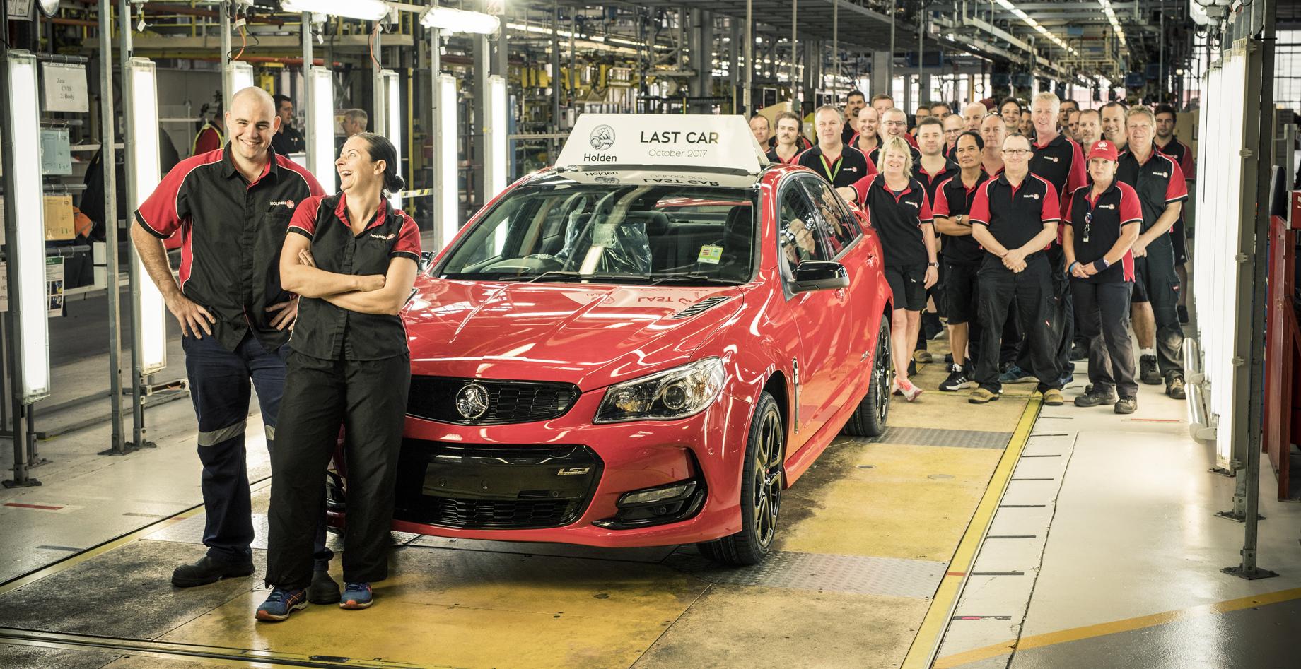 Концерн GM решил окончательно закрыть бренд Holden
