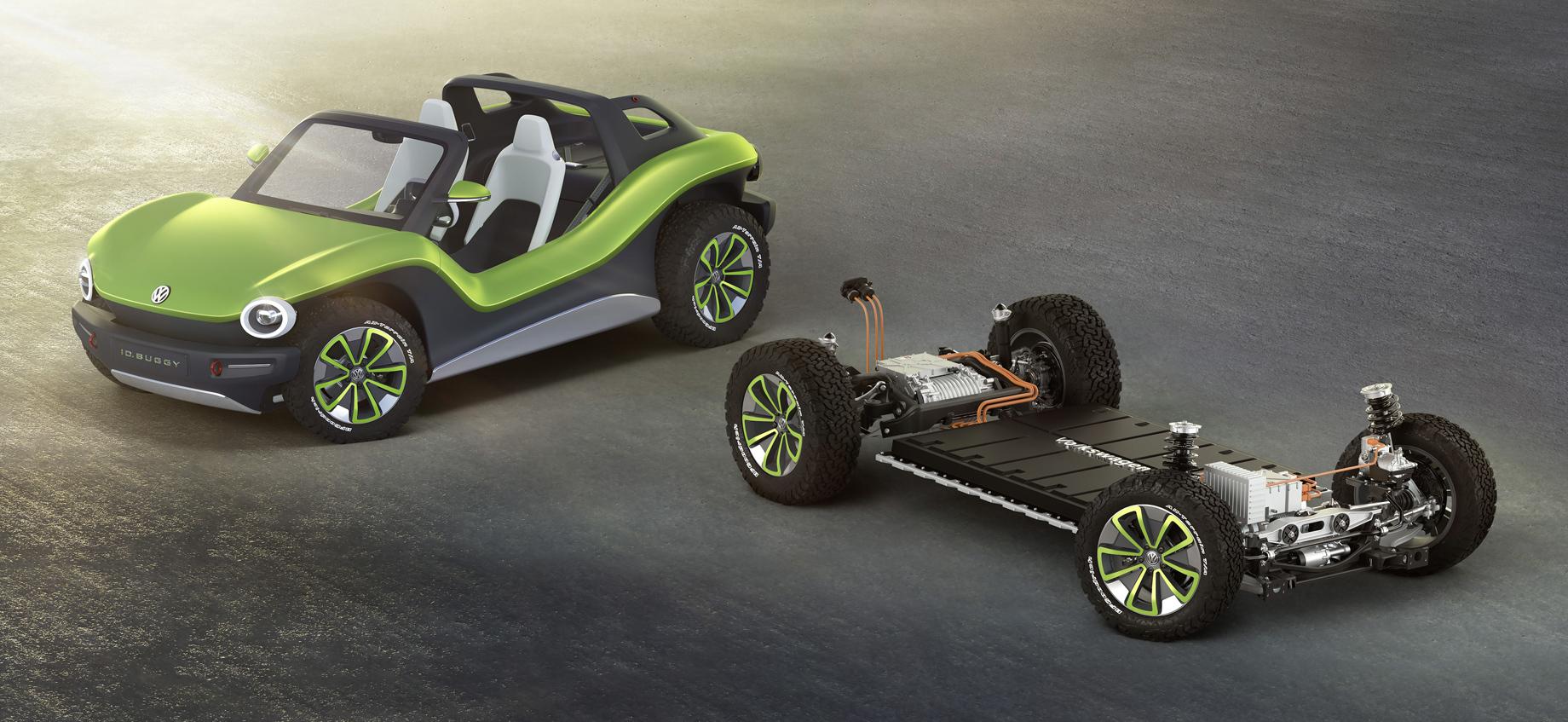 Внедорожник Volkswagen Ruggdzz поведёт засобой другие модели