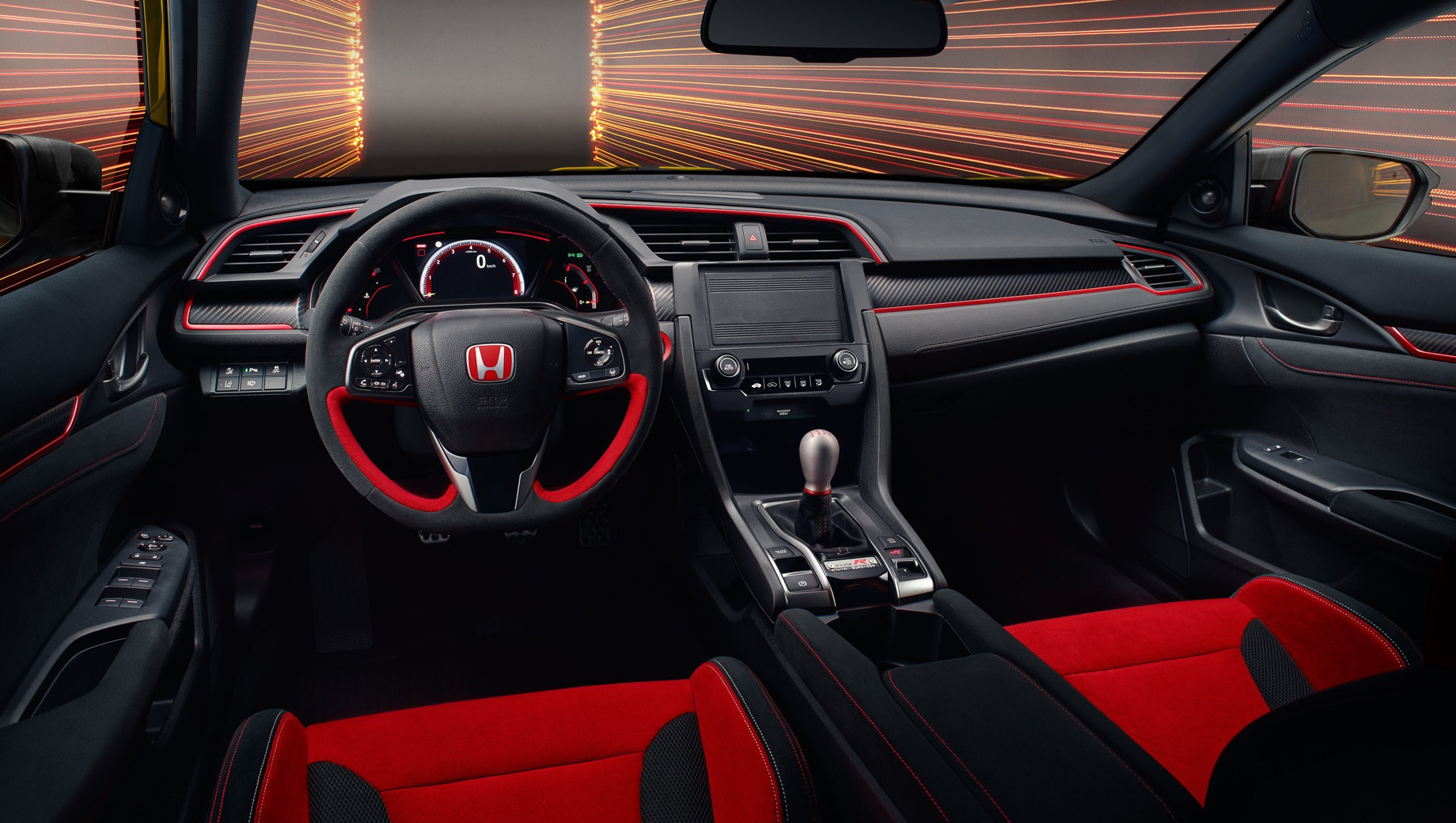 Хот-хэтч Honda Civic Type R похвастался новыми модификациями