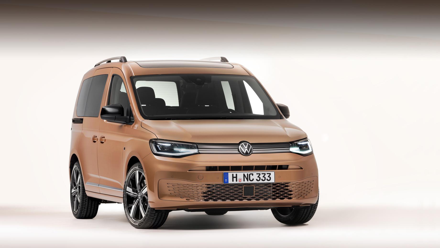 Volkswagen caddy. Возможность полностью перерисовать кузов отразилась не только на дизайне — заодно разработчикам удалось снизить коэффициент сопротивления воздуху с 0,33 до 0,30.