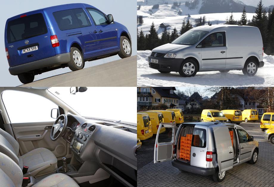 Новый компактвэн Volkswagen Caddy ударился вцифровизацию