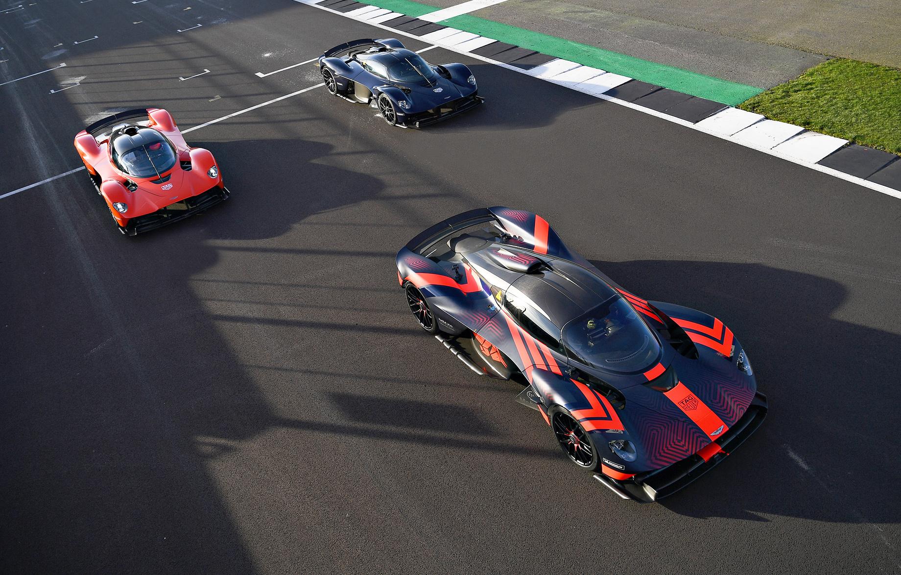 Гиперкар Aston Martin Valkyrie променяет Ле-Ман наФормулу-1