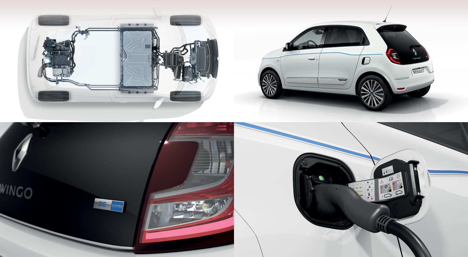 Электрокар Renault Twingo Z.E. отличился отСмарта EQ батареей