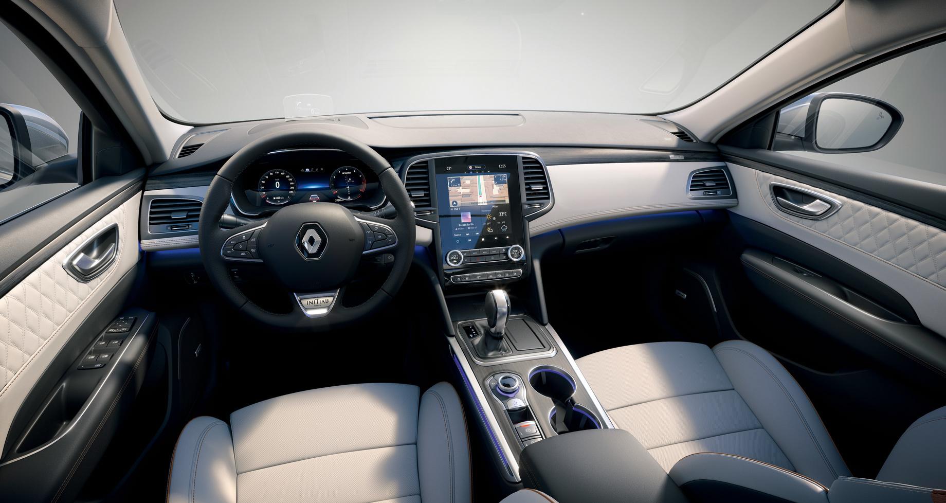 Седан иуниверсал Renault Talisman улучшились внюансах