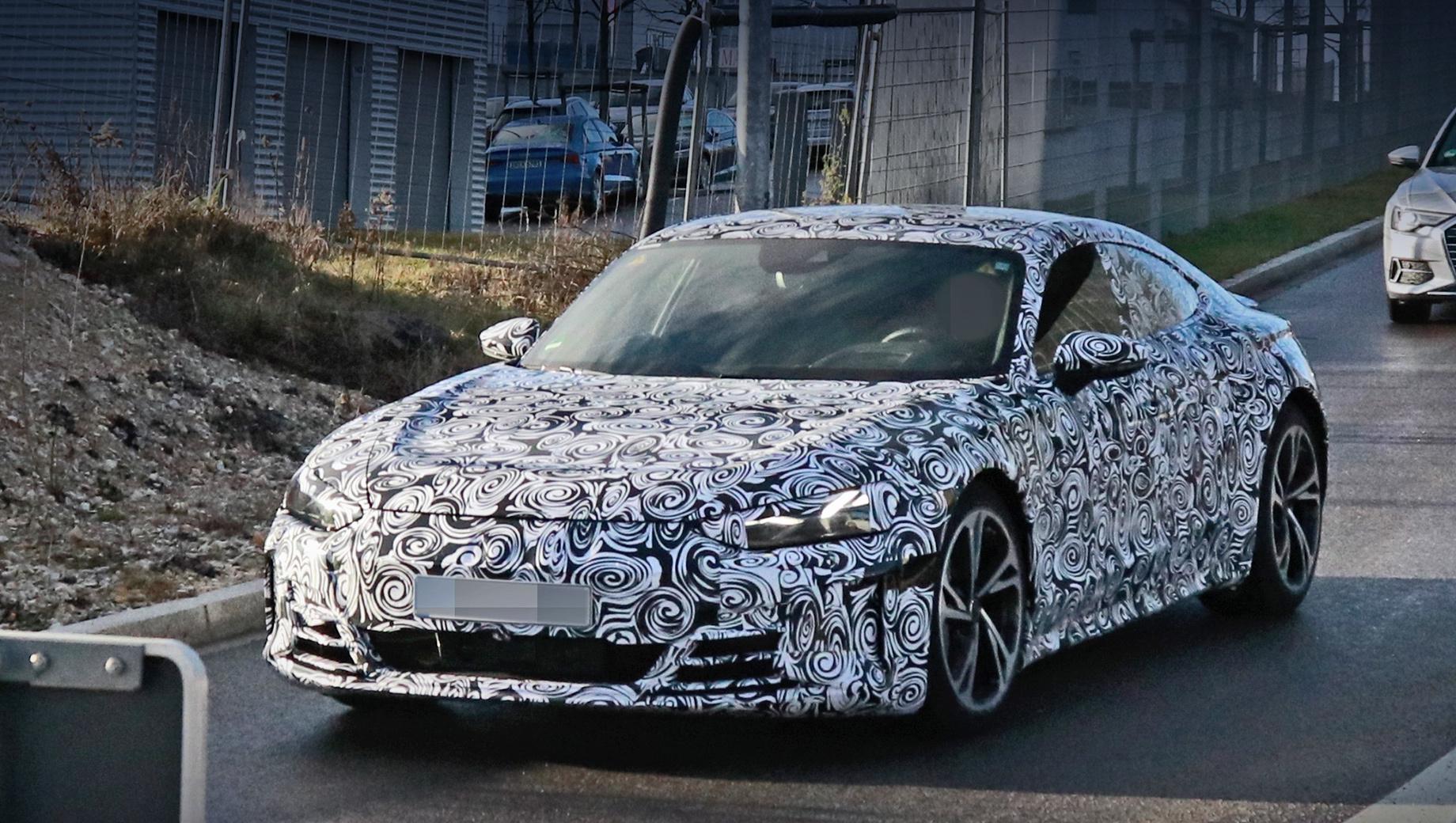 Audi e-tron,Audi e-tron gt. Премьера этого электрокара под названием e-tron GT может состояться до конца текущего года.