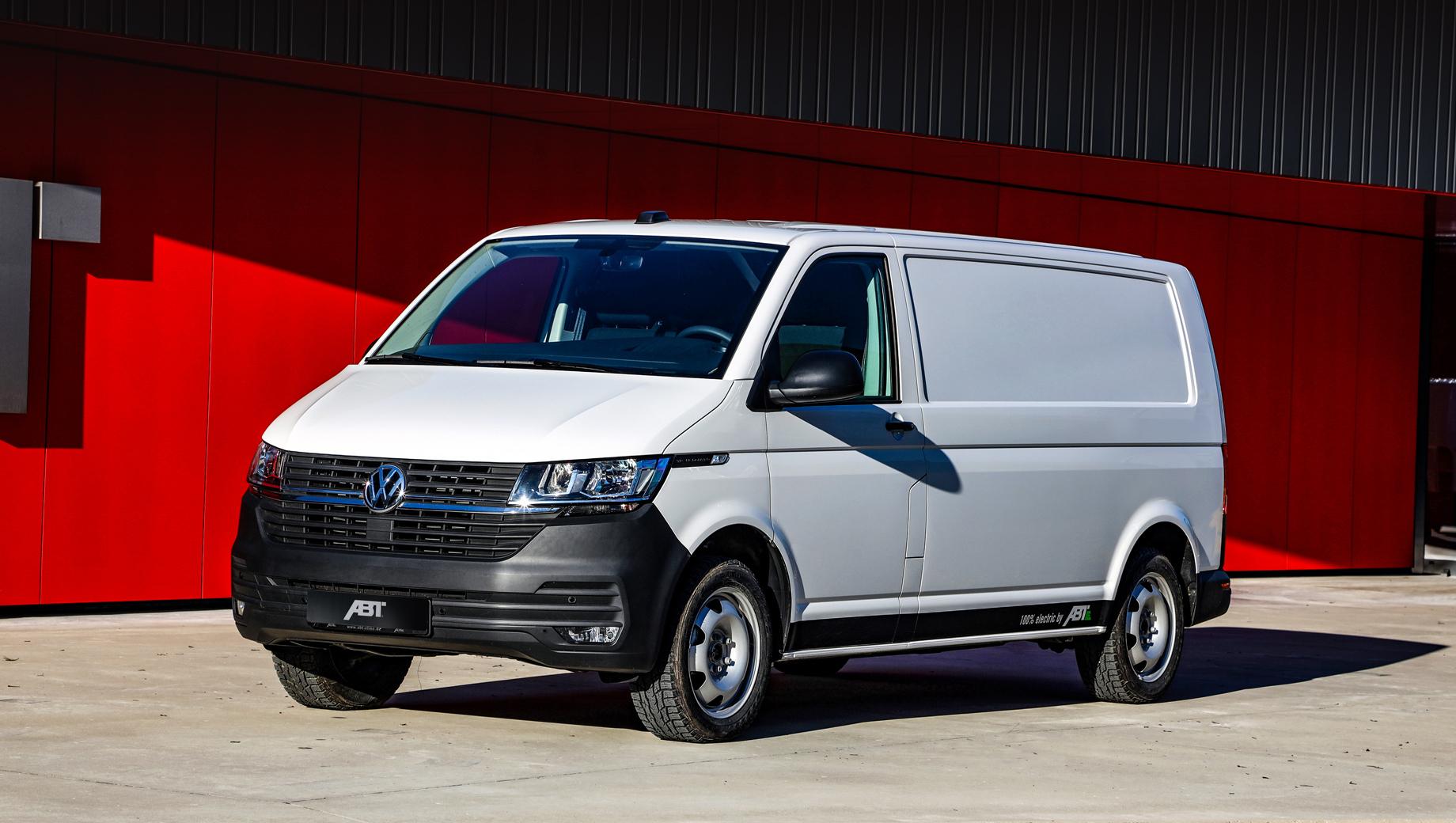 Volkswagen t61. Поскольку ABT e-Line является официальным партнёром Volkswagen Commercial Vehicles, данный проект нельзя считать банальным тюнингом или посторонней конверсией, а приобрести машину можно как через партнёров ABT e-Line, так и у ряда дилеров VWCV.