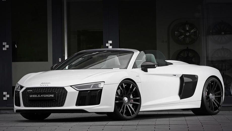 Audi r8. С места до 200 км/ч двухдверка Apocalypticar от Wheelsandmore ускоряется за 6,3 с, до 300 км/ч — за 14,2, а до 357 км/ч — за 20,3. За такие показатели придётся заплатить 66 387 евро (5,47 млн рублей). Сам же донор в Германии обойдётся в 215 500 евро (17,8 млн рублей).