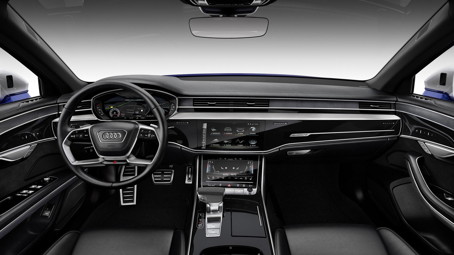 «Четвёртый» седан Audi S8 добрался доРоссии без потерь