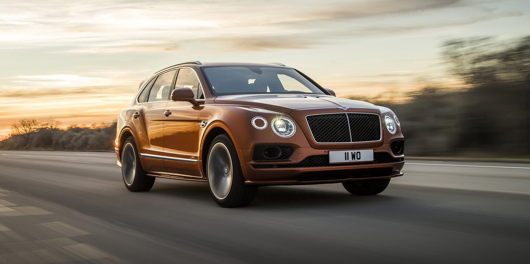 Седан Bentley Mulsanne будет заменён большим кроссовером