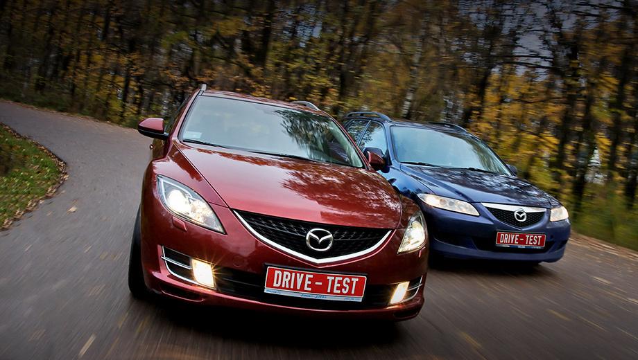 Mazda 6. Для редакционных нужд нам требовался просто универсал, но мы получили нечто большее. Mazda6 второго поколения задумывалась как более дорогая и рафинированная машина, а нам она досталась ещё и в самой красивой версии.