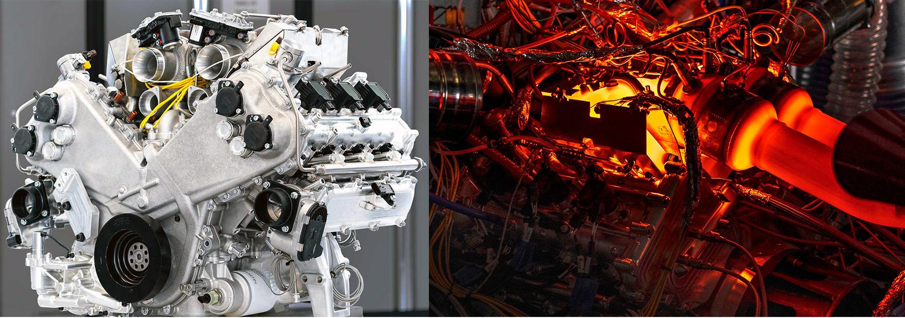 Aston Martin разработал первый заполвека двигатель V6