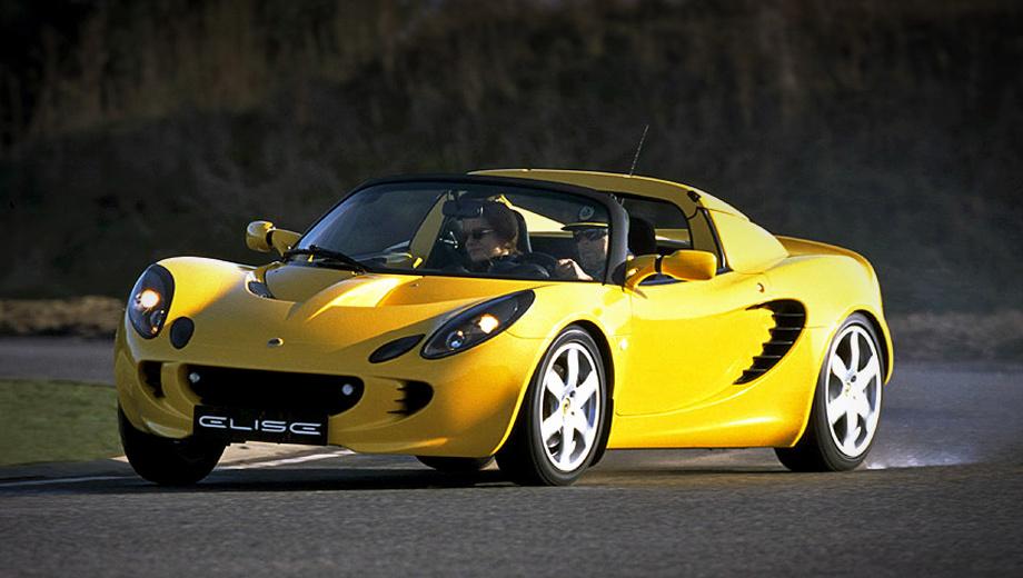 Lotus elise,Lotus exige. В 2004 году Lotus Elise 111R получил не только мотор от Тойоты (192 л.с., 181 Н•м), но и шестиступенчатую «механику». Купе снаряжённой массой 860 кг набирало сотню за 5,2 с и развивало 241 км/ч.