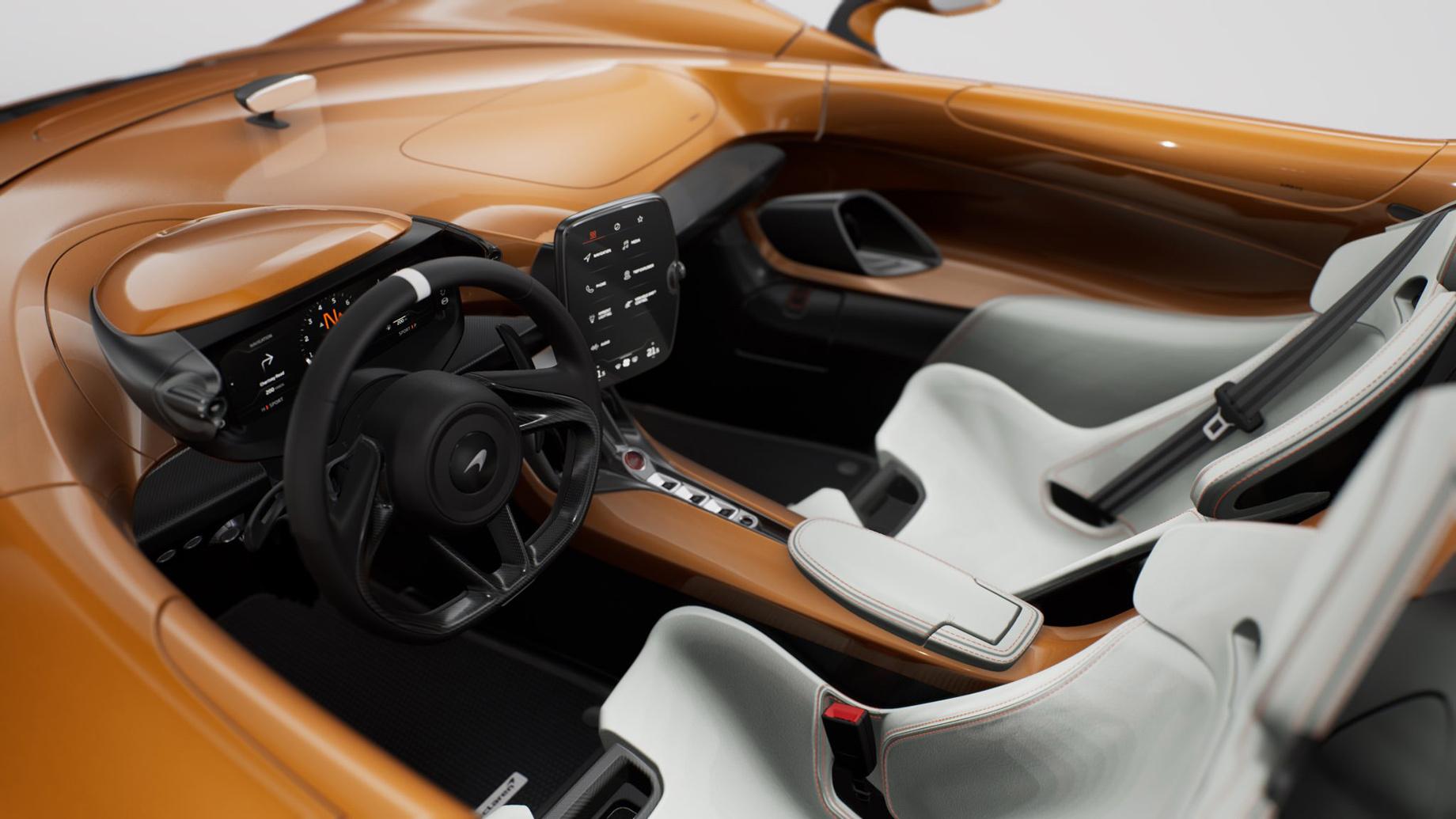 Спайдер McLaren Elva M6A Theme by MSO выделился ливреей