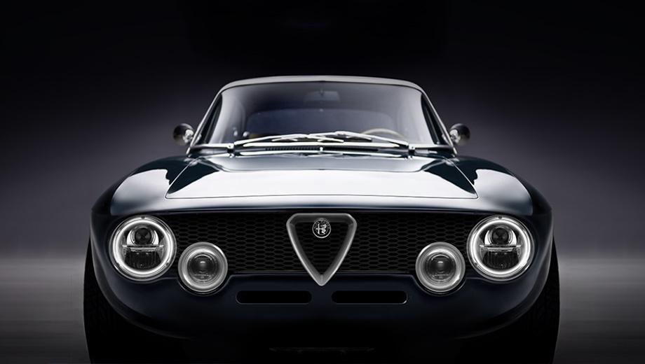 Рестомод Alfa Romeo Giulia GTA явился углепластиковым электрокаром