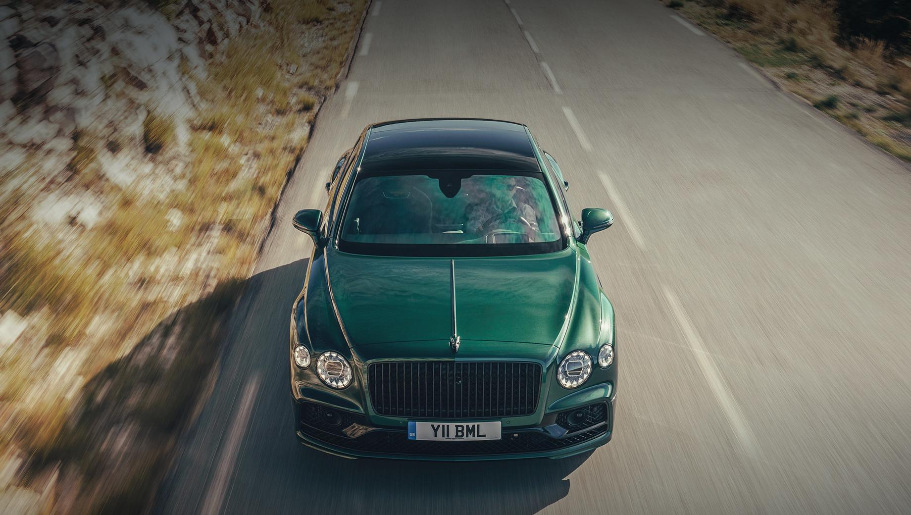 Электрокар Bentley окажется приподнятым седаном