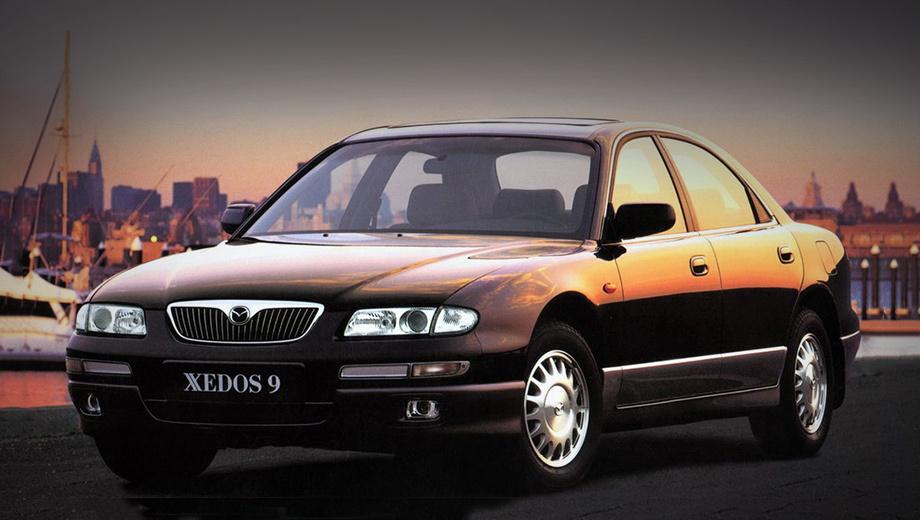 Один седан Mazda Xedos 9 вызван на замену газогенератора