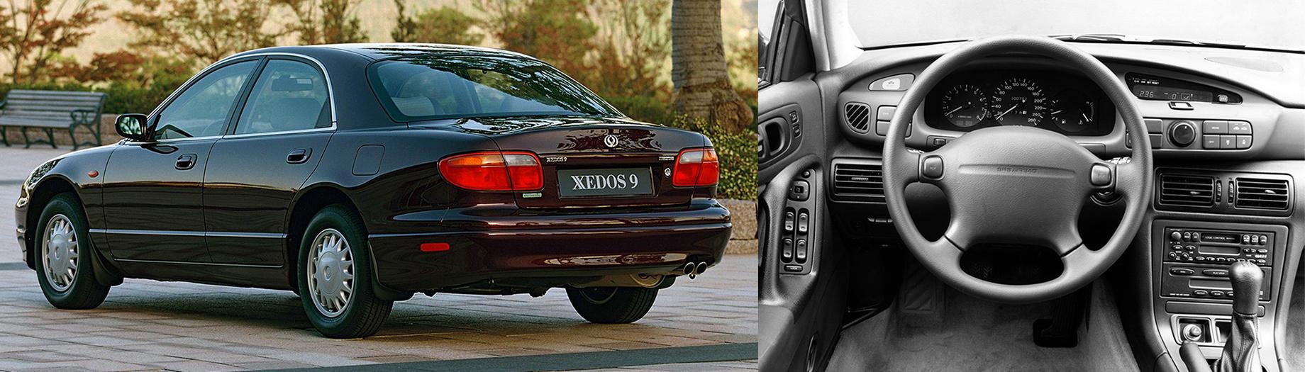 Один седан Mazda Xedos 9 вызван назамену газогенератора