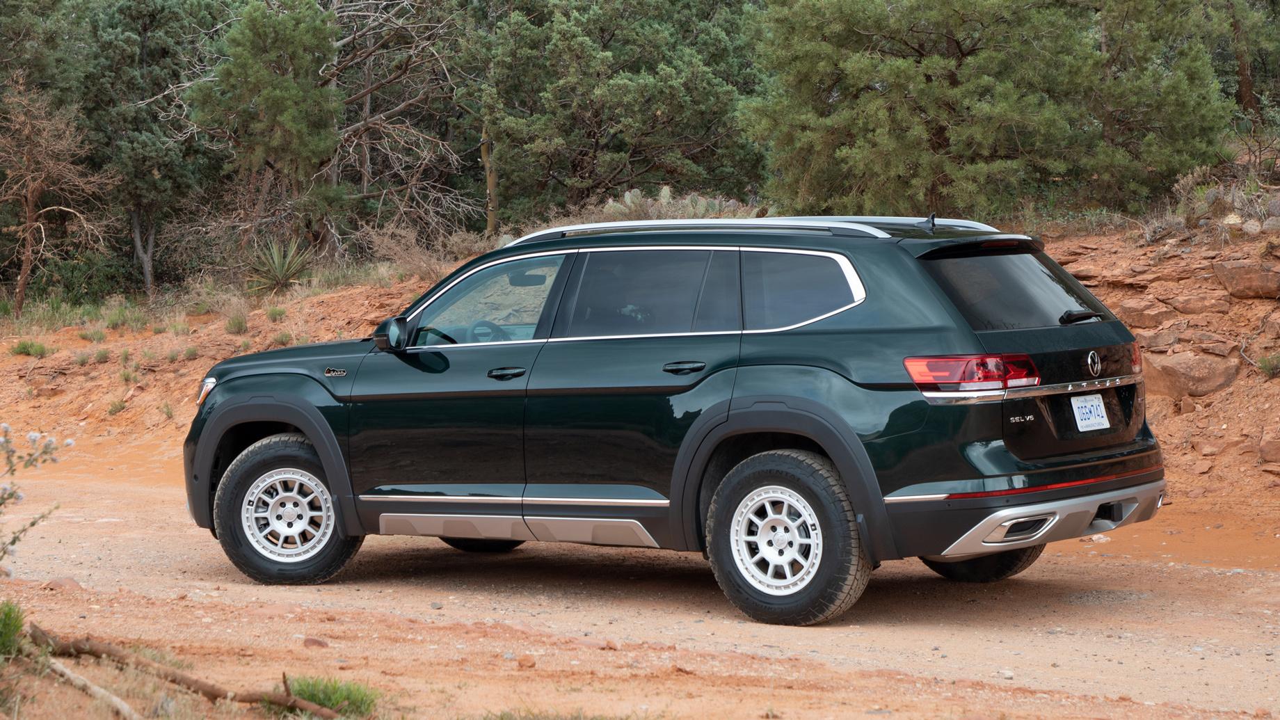 Семиместный Volkswagen Atlas обзавёлся офроуд-пакетом
