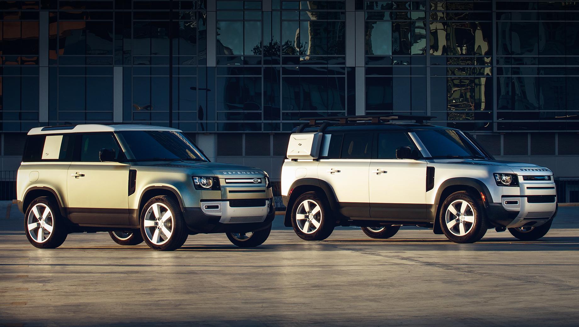 Новый Land Rover Defender стартует в России осенью
