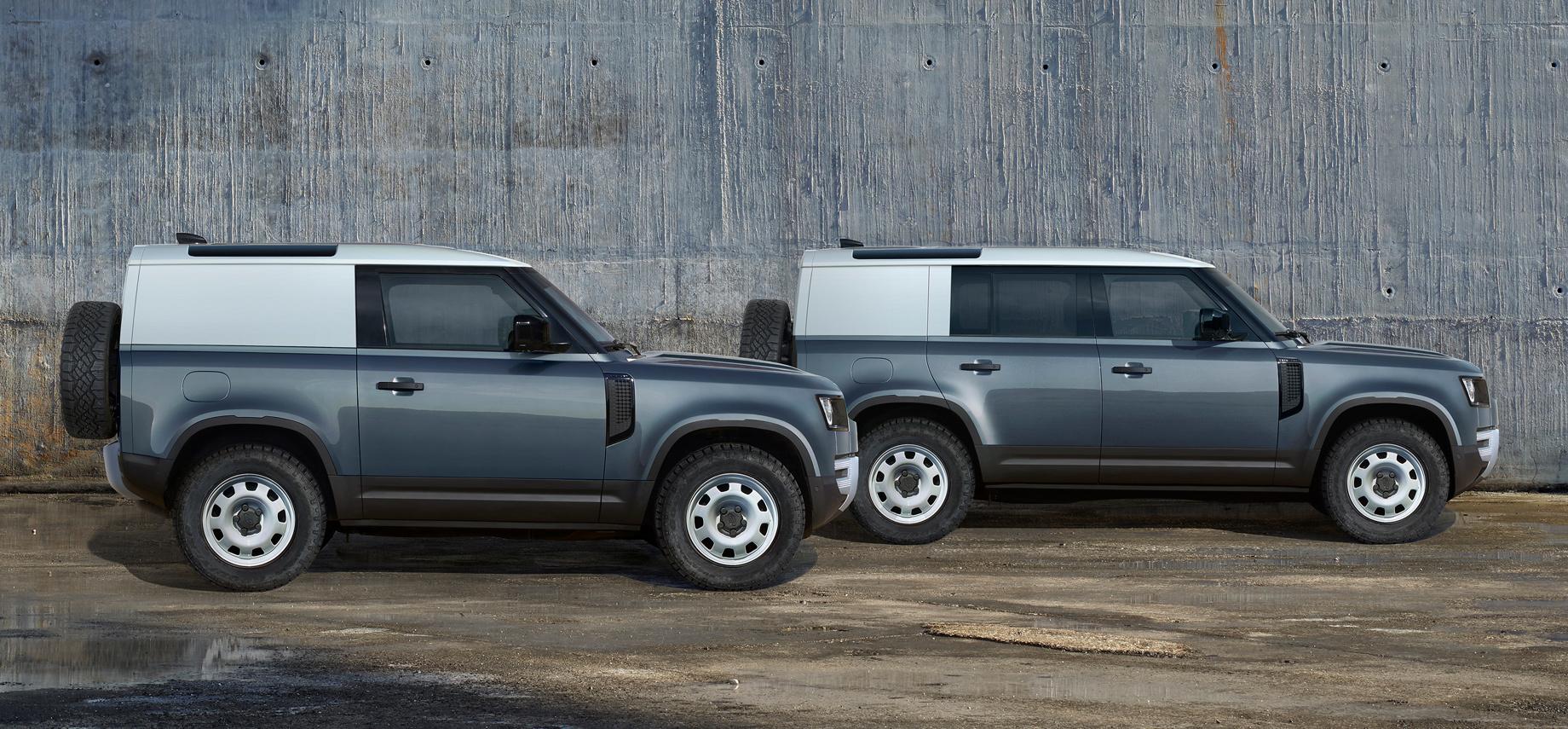 Новый Land Rover Defender стартует вРоссии осенью