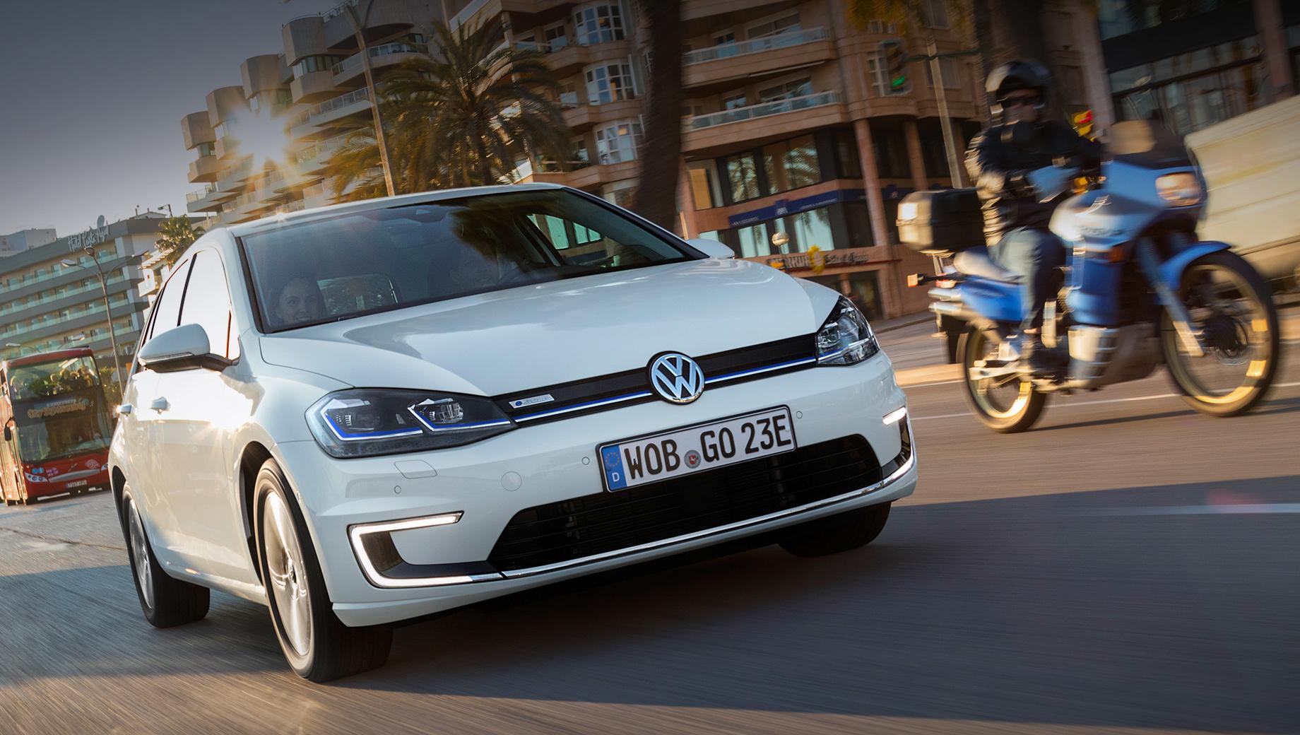Volkswagen продлил жизнь батарейному хэтчбеку e-Golf