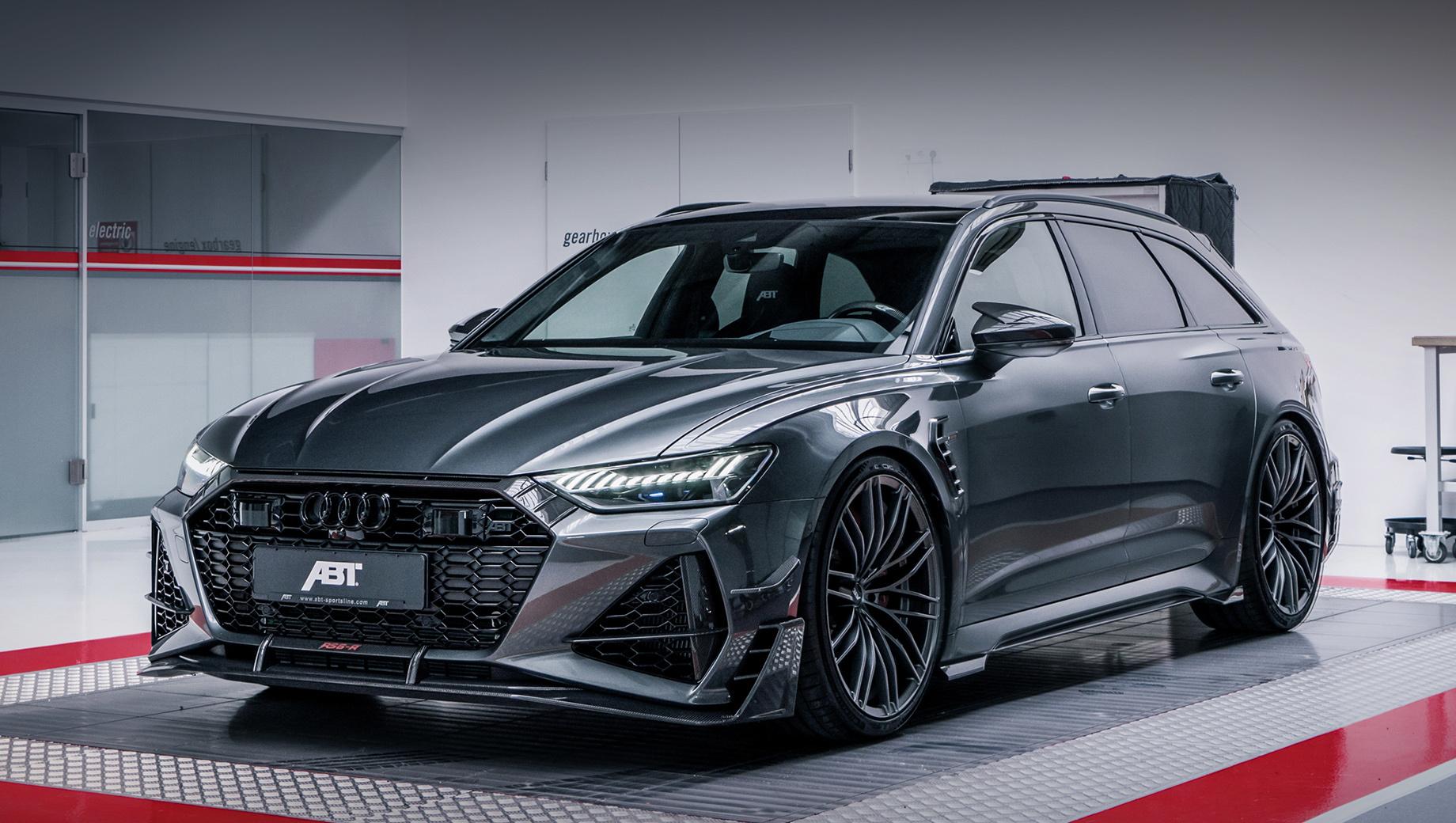 Audi rs6. Вызывающе агрессивный внешний вид с новыми бамперами, спойлерами, канардами, порогами, корпусами боковых зеркал, накладками на передних крыльях… Вот-вот откроется водительская дверь — и из универсала выйдет человек в костюме летучей мыши. Всего сделают 125 таких машин.