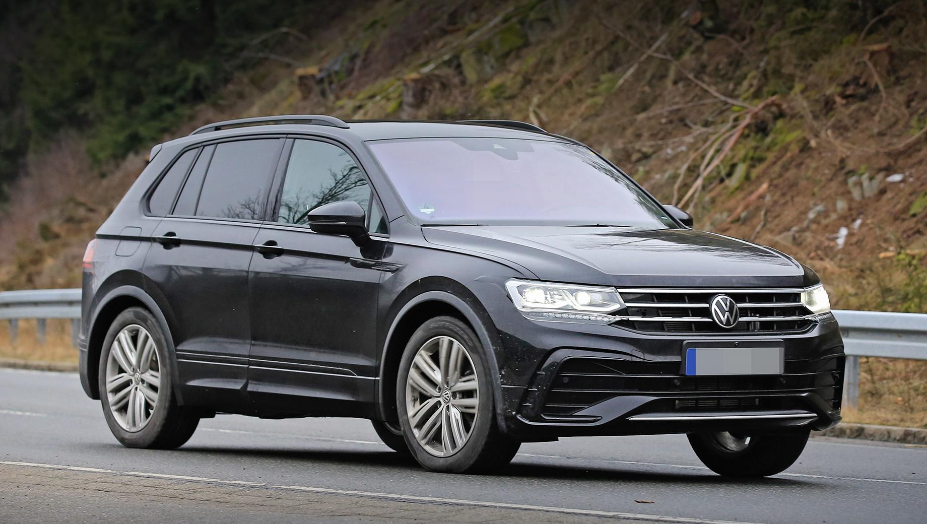 Обновлённый Volkswagen Tiguan породнится с новым Гольфом