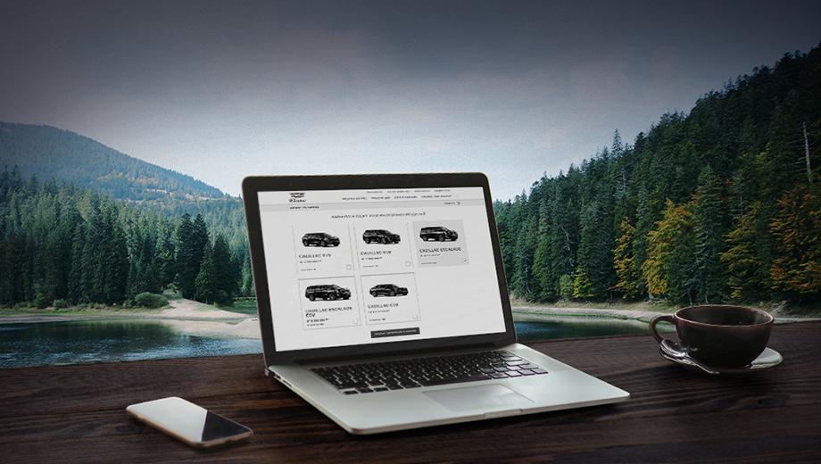 Промо: Cadillac запускает новый сервис онлайн-покупки машин