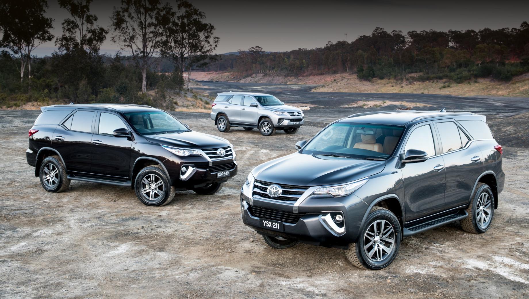 Внешность внедорожника Toyota Fortuner радикально перекроена